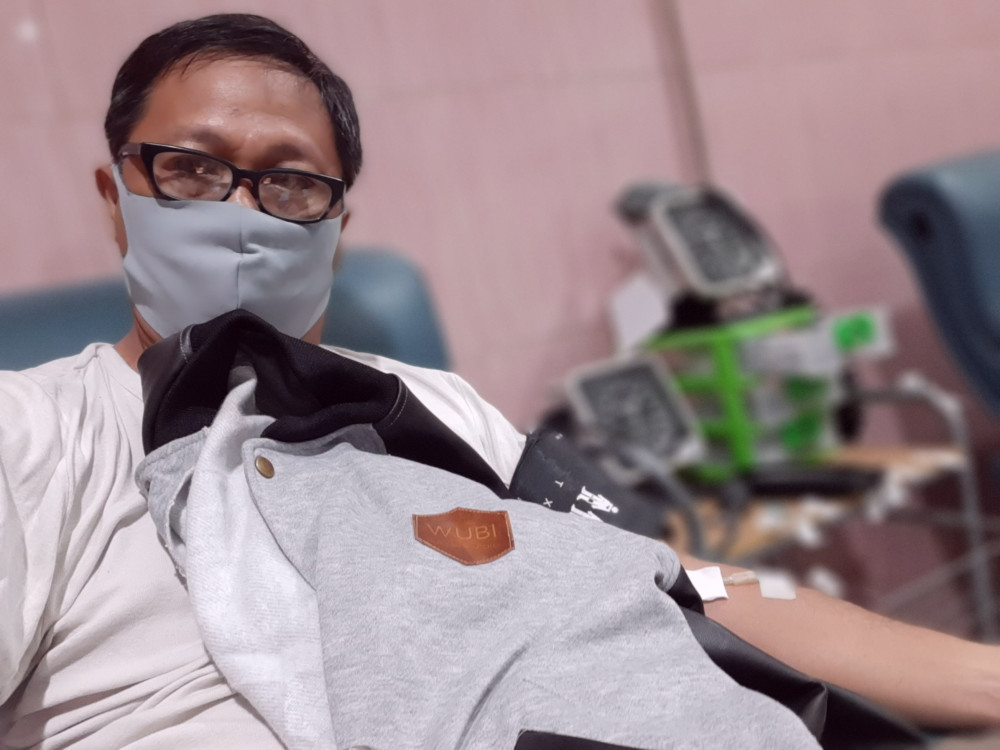 90donor darah ab manado