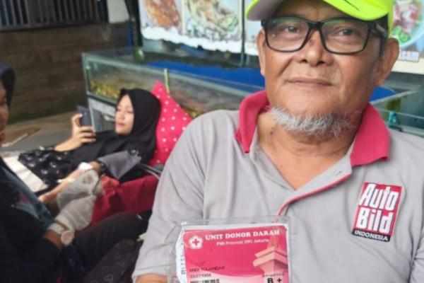 Peduli Kebutuhan Donor Darah Bersama Blood4LifeID Makassar
