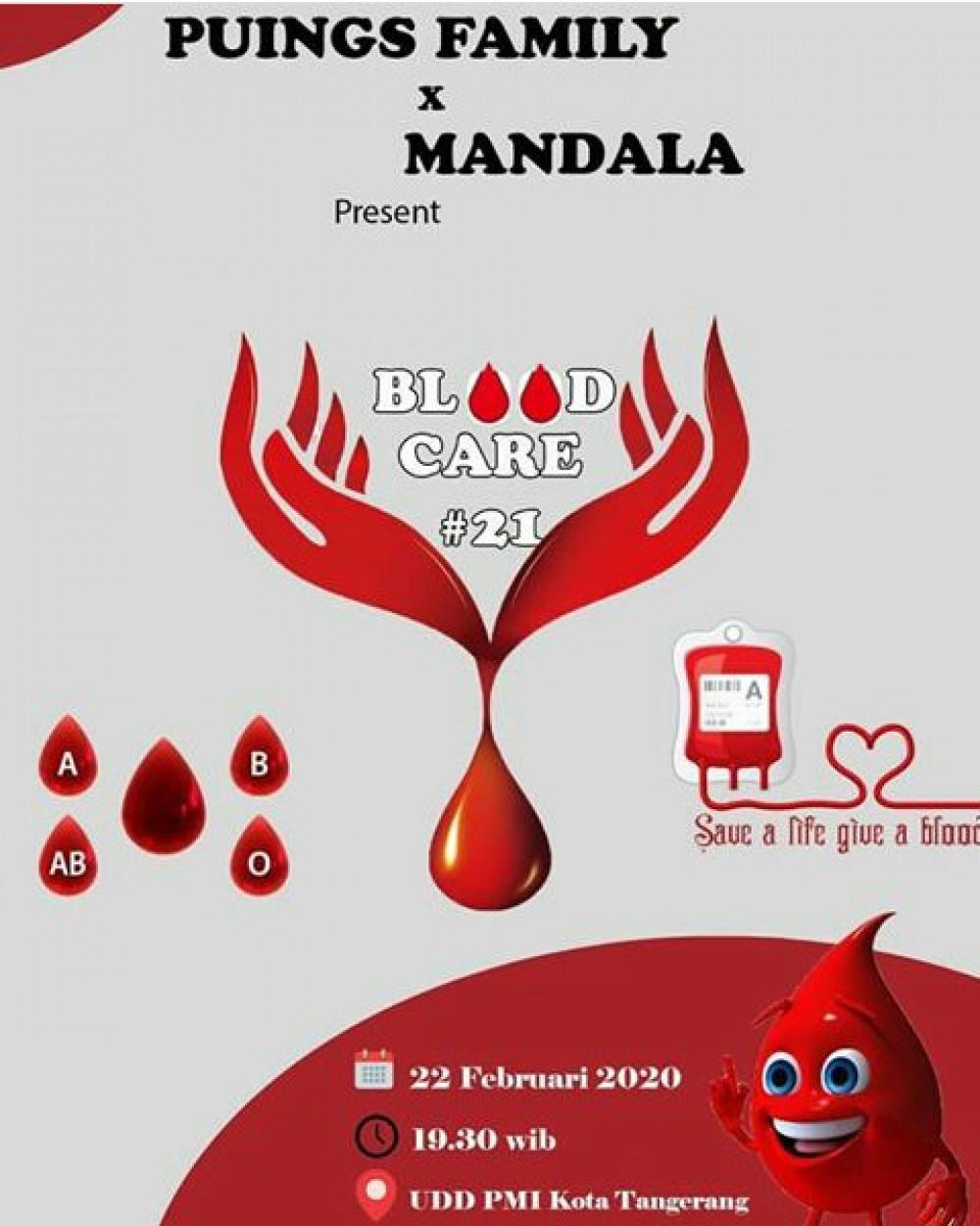 Donor Darah Puings Family & Mandala Info Kota Tangerang