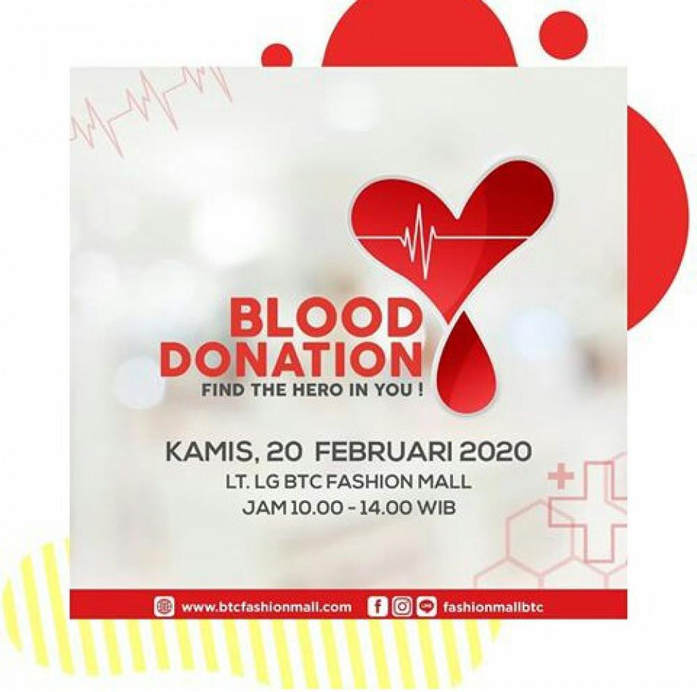 Donor Darah Fashion Mall BTC Bandung