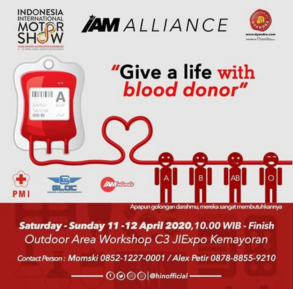 Donor Darah IAM Alliance JIExpo Kemayoran