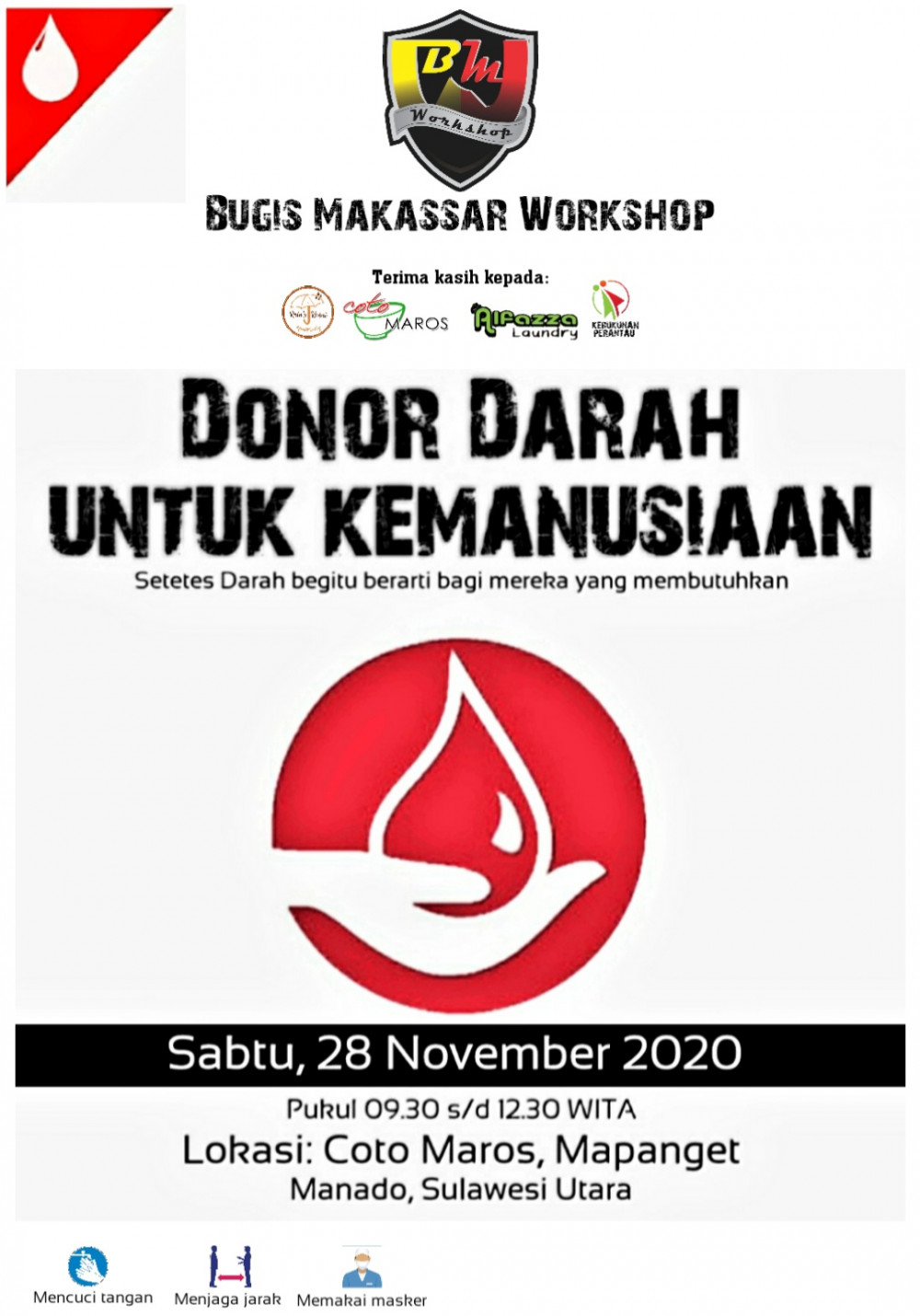 Donor Darah Demi Kemanusiaan