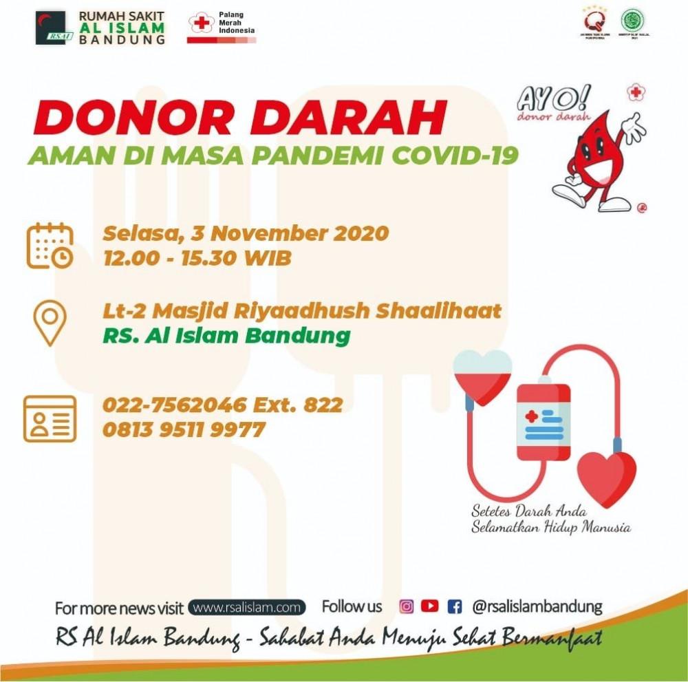 Donor Darah RS Al Islam Bandung