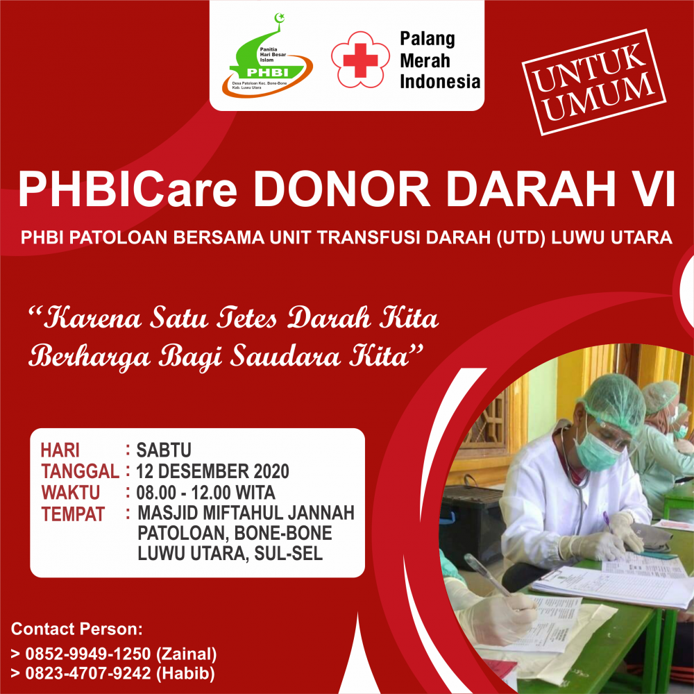 PHBICare Donor Darah VI