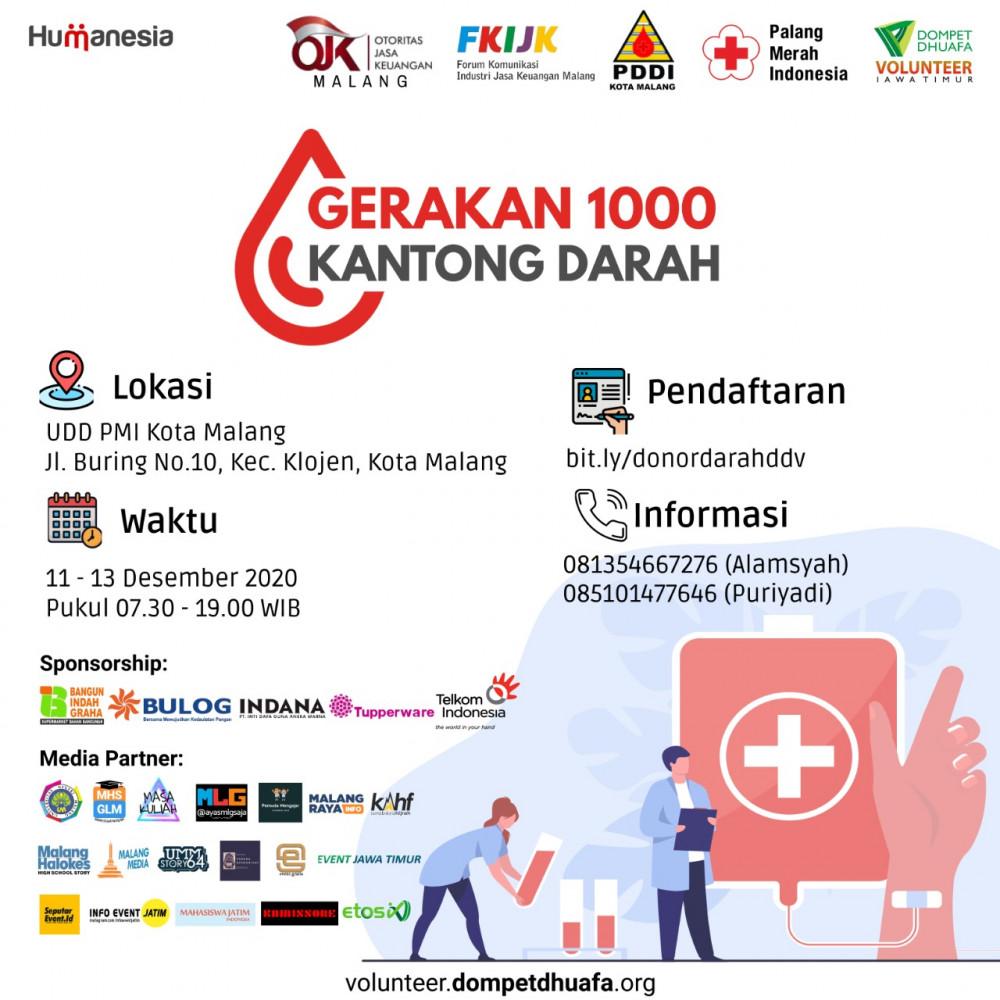 Gerakan 1000 Kantong Darah