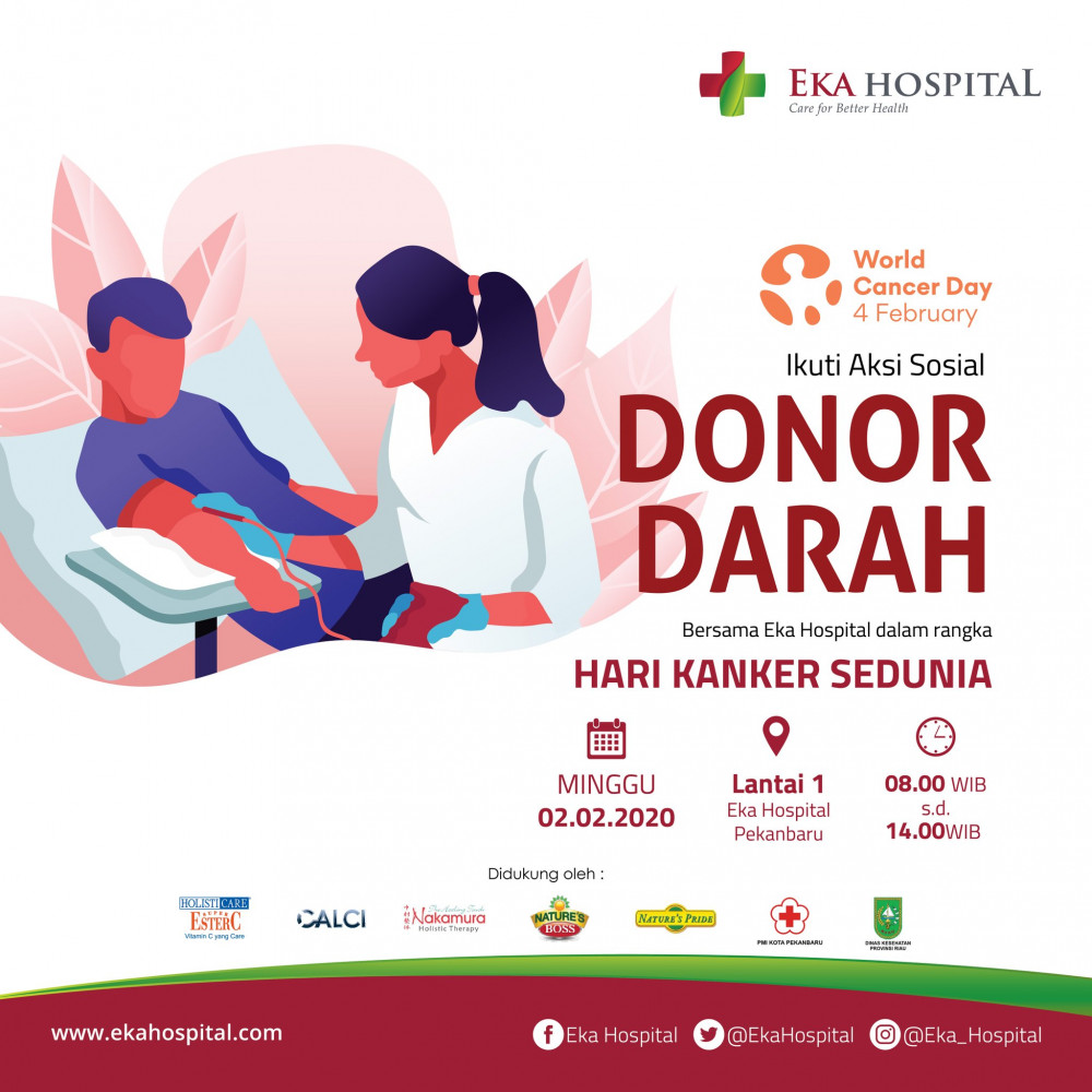 Donor Darah Eka Hospital Pekanbaru