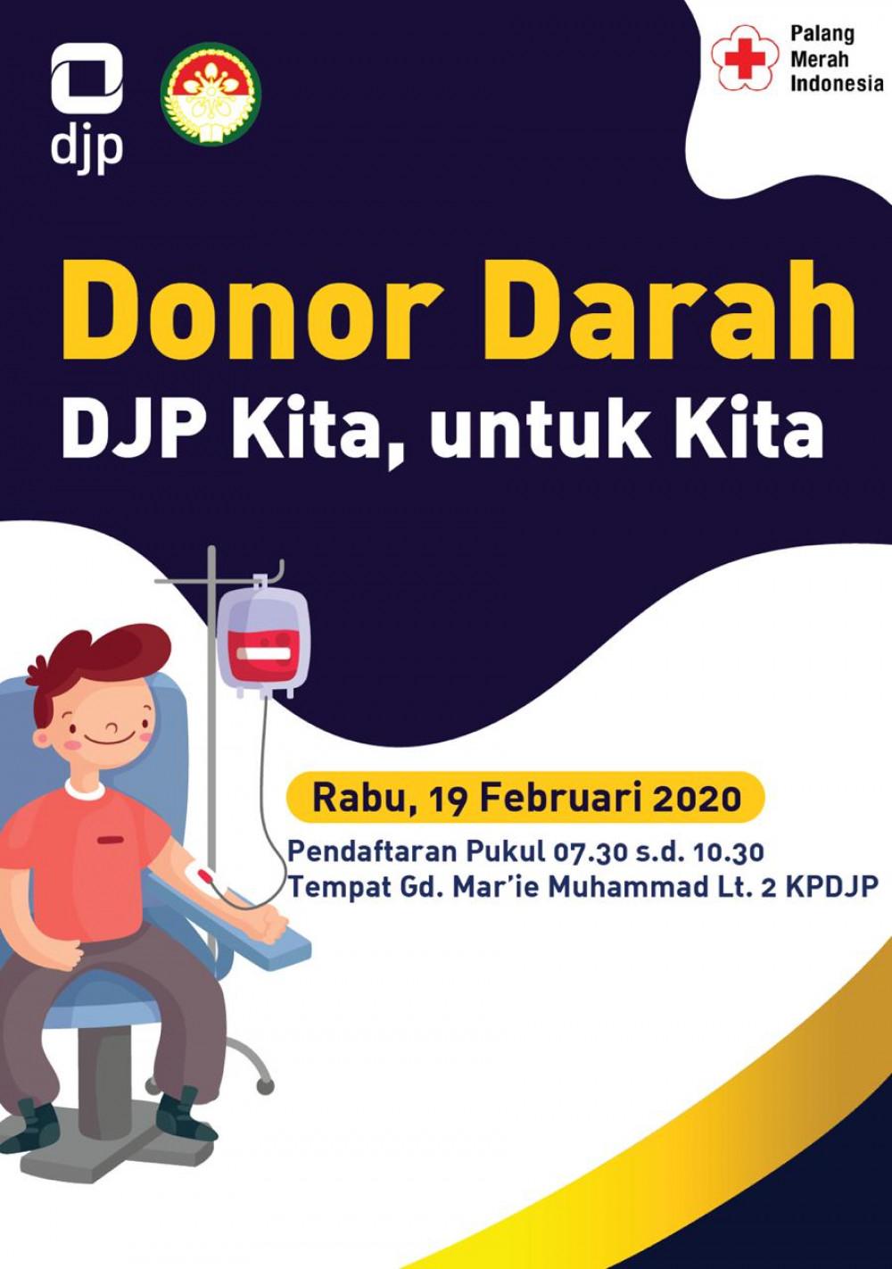 DJP Kita, Untuk Kita : Donor Darah DJP Jakarta