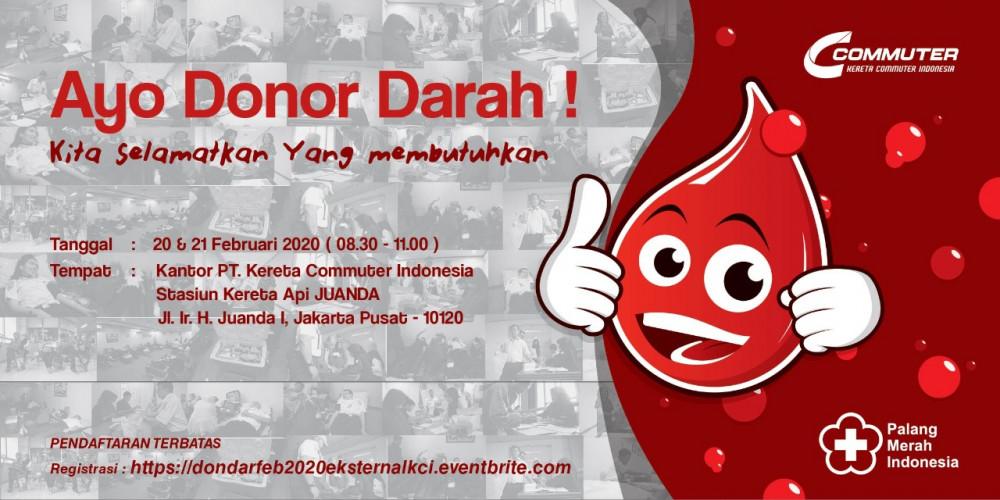 Donor Darah PT Kereta Commuter Indonesia
