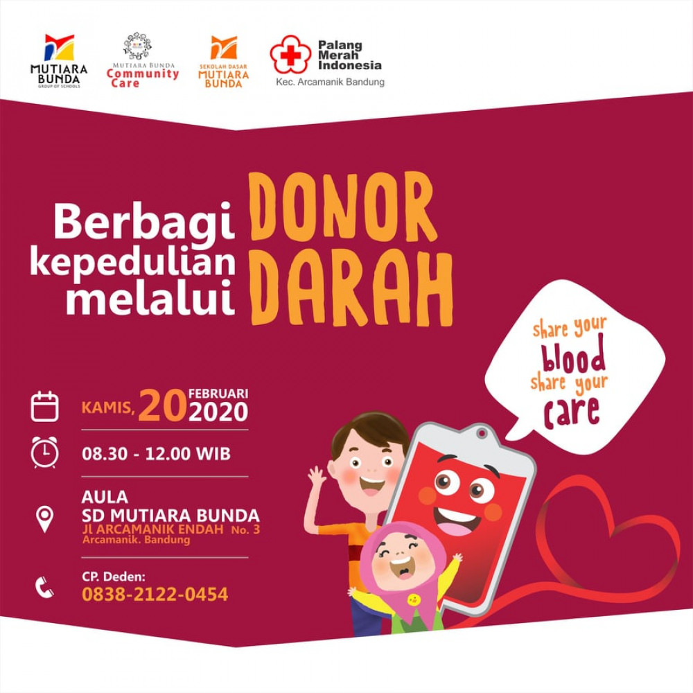 Donor Darah SD Mutiara Bunda Bandung