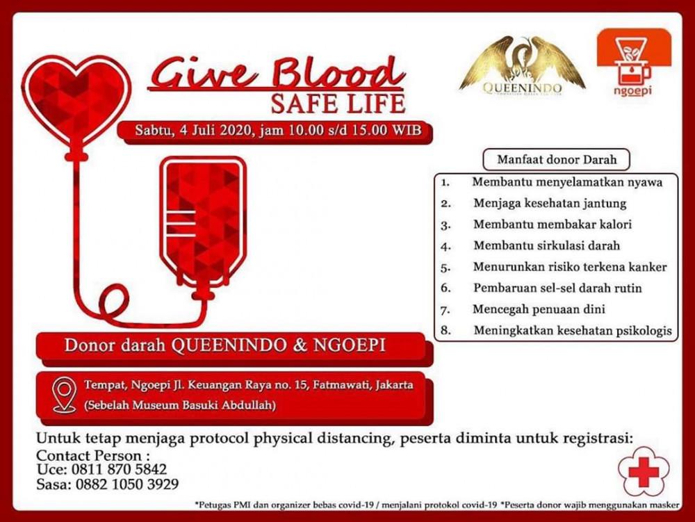 Give Blood Safe Life