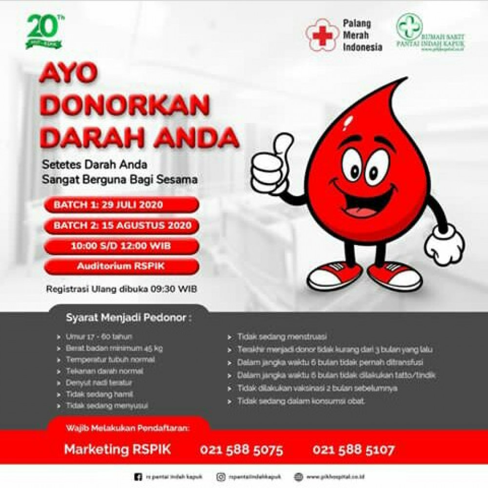 Donor Darah HUT RS PIK