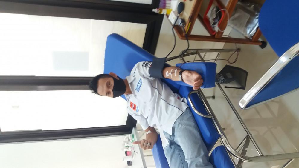 Donor di PMI Kabupaten Pangandaran