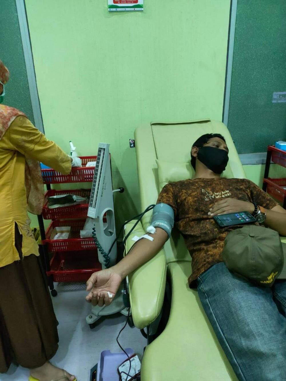Donar Darah ke 14