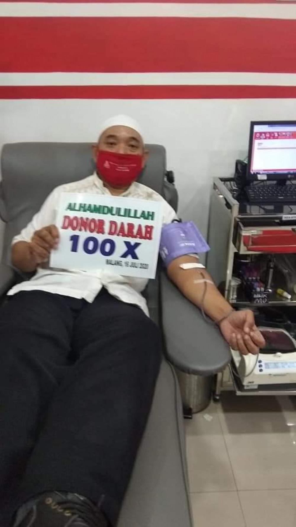 Donor Darah ke ?