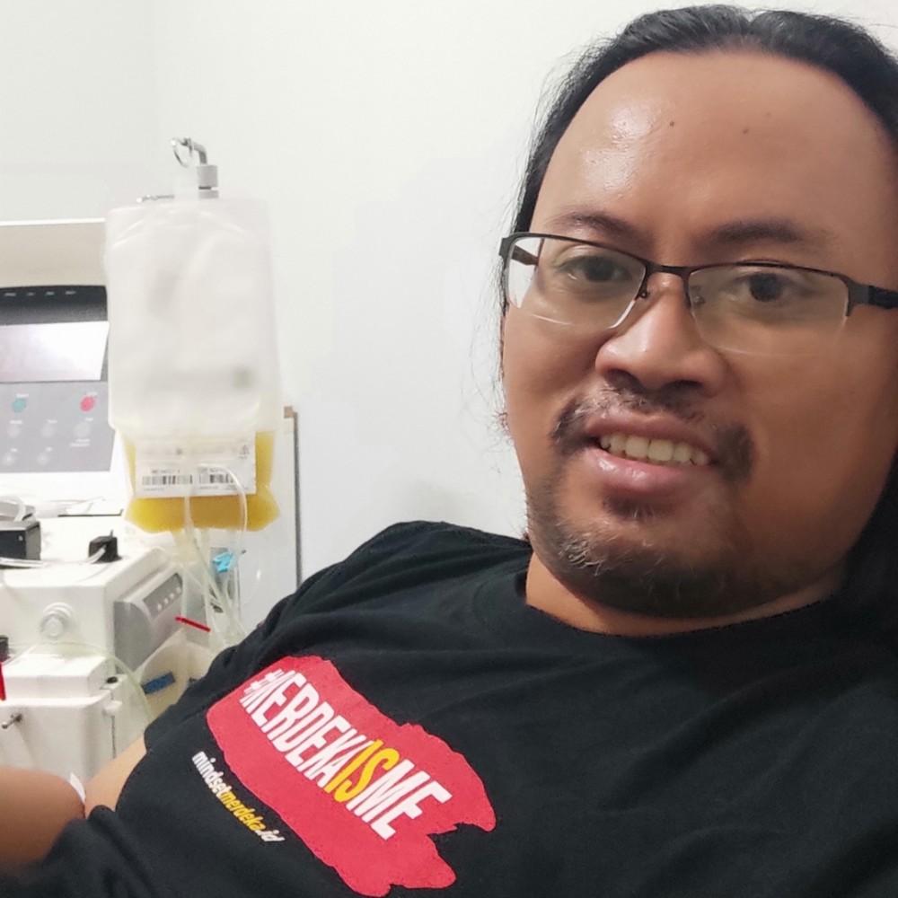 Donor Apheresis ke-2 di UTD Baru RSCM (Cipto Mangunkusumo)
