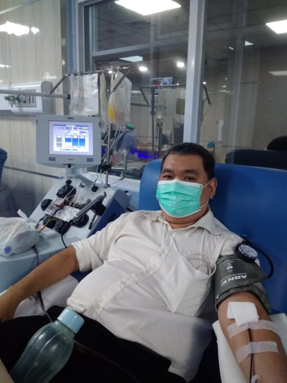 udah absen sebulan gak donor
