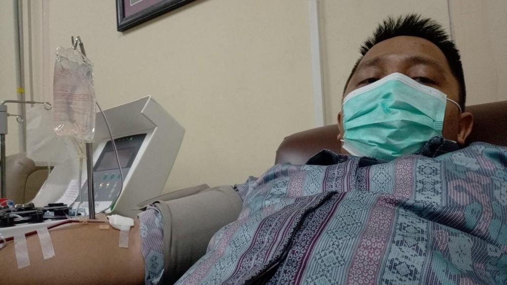 Donor Darah Apheresis Dadakan
